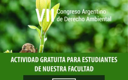 VII Congreso Argentino de Derecho Ambiental