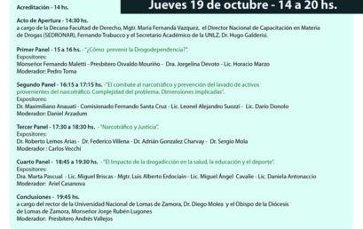 III Jornadas: Narcotráfico, impacto en la República Argentina