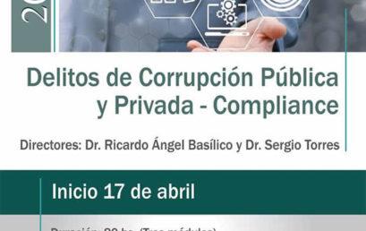 Diplomatura en Delitos de Corrupción Pública y Privada – Compliance
