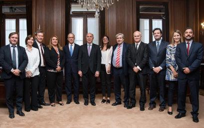 Ministros de la Corte Suprema recibieron a decanos de Facultades de Derecho Nacionales