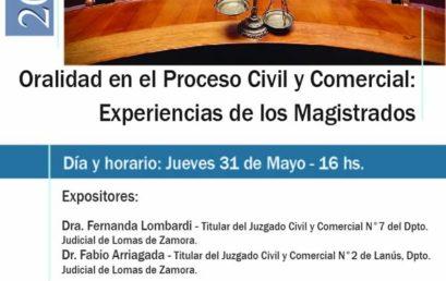 Oralidad en el Proceso Civil y Comercial