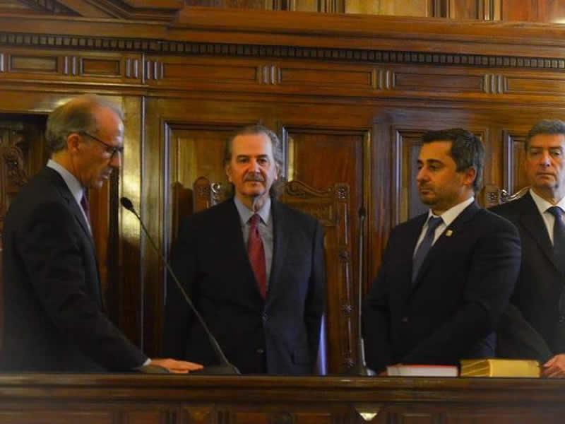 El rector Diego Molea asumió en el Consejo de la Magistratura de la Nación