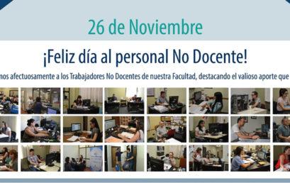 Día del Trabajador No Docente Universitario