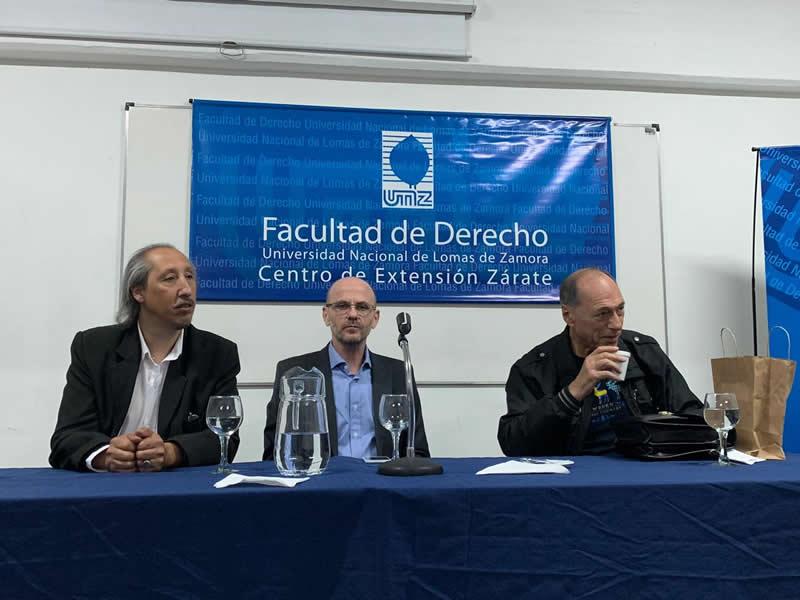El Dr. Zaffaroni dictó una conferencia en la Extensión Zárate