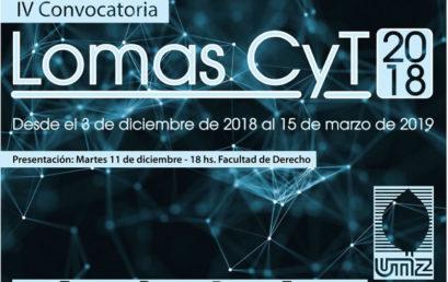 IV Convocatoria Lomas CyT