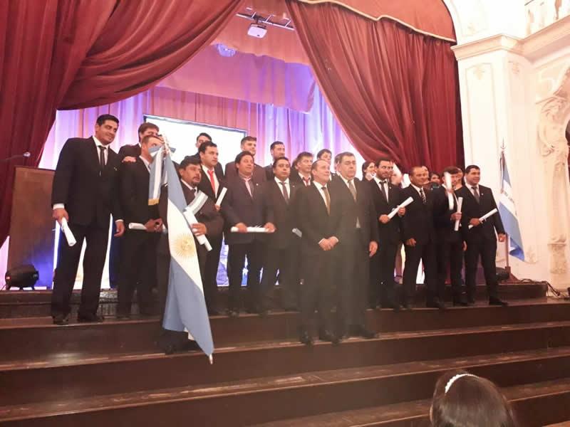 Se realizó la 289° Colación de Grado del Centro de Extensión Goya
