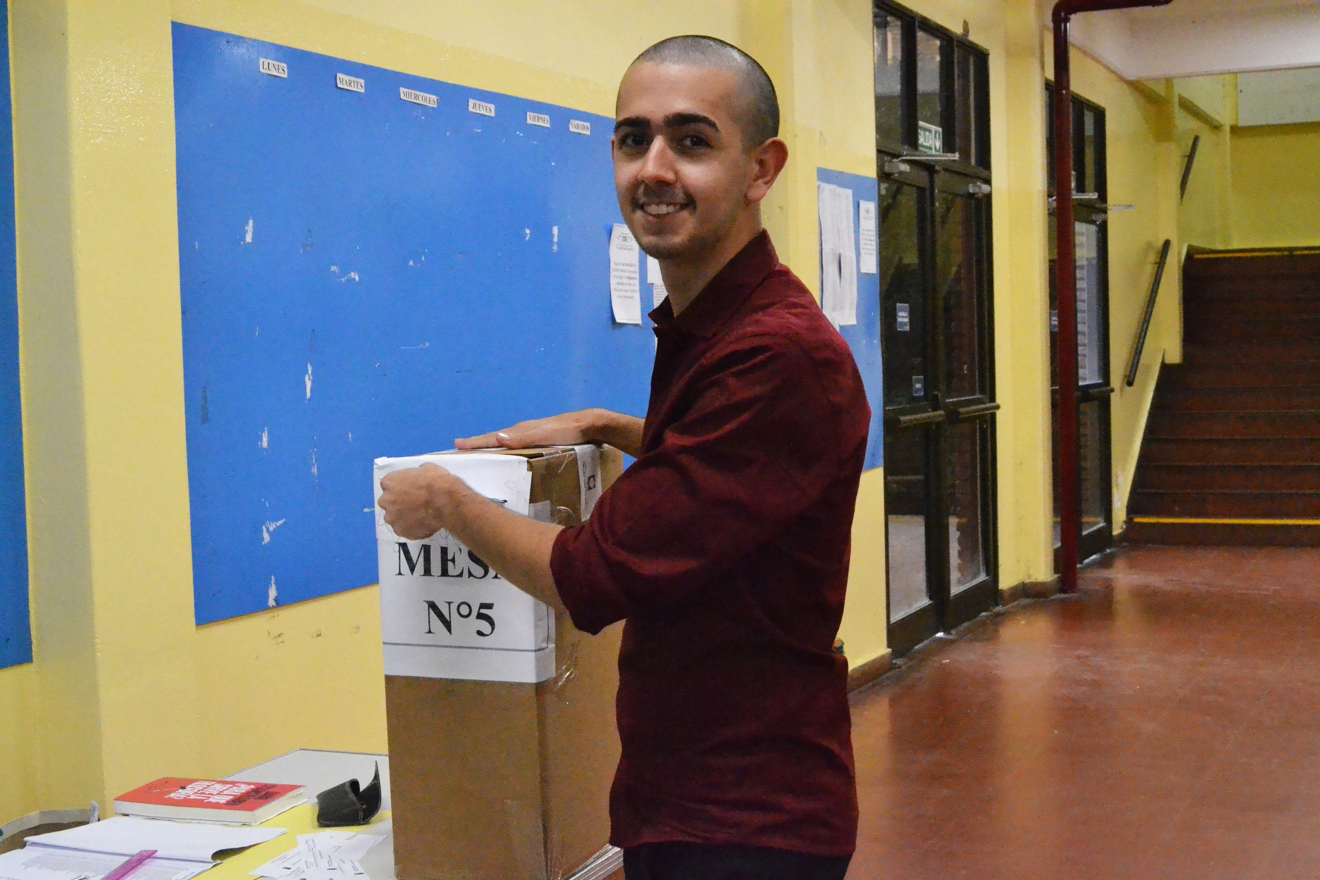 Se llevaron a cabo las Elecciones del Claustro Estudiantil