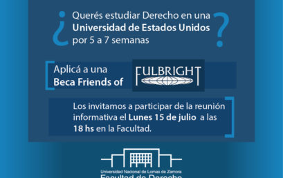 "Becas ""Friends of Fulbright"""