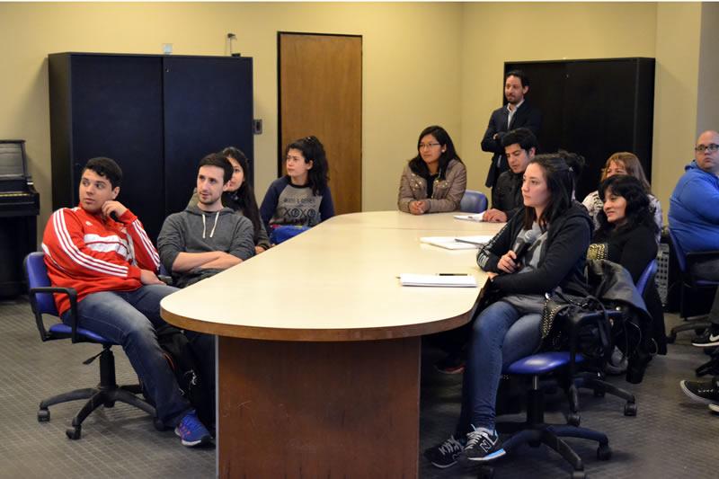 Videoconferencia con la Universidad de Carolina del Este