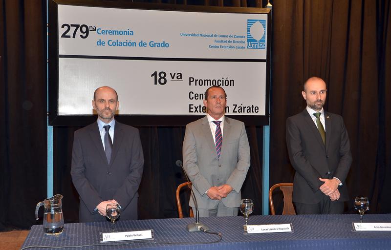 Colación de Grado N° 277 y 279 de los Centros de Extensión Rufino y Zárate