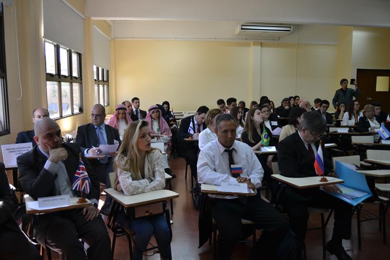 Simulacro de Modelo de Sesión de Asamblea General deNacionesUnidas