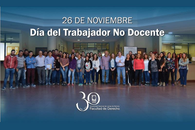 26 de Noviembre – Día del Trabajador No Docente