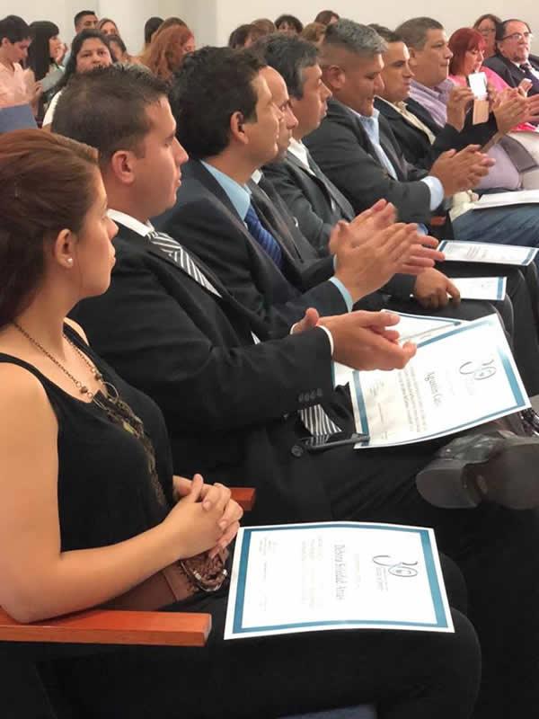 """Entrega de certificados de las Diplomaturas """"Escena del Crimen en la Investigación Criminal"""" y """"Derecho del Trabajo y Relaciones Laborales"""""""