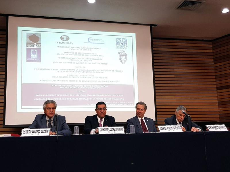 Primer Encuentro Interuniversitario entre la Universidad Nacional de Lomas de Zamora y la Universidad Nacional Autónoma de México