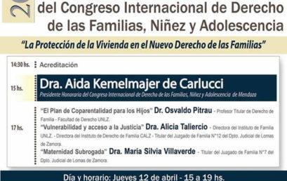 Jornada preparatoria del congreso internacional de derechos de las familias, niñez y adolescencia