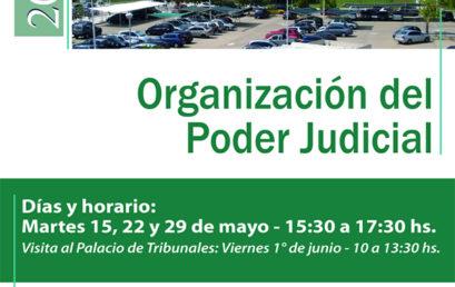 Taller de Organización del Poder Judicial