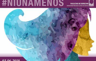 3 de junio #NiUnaMenos