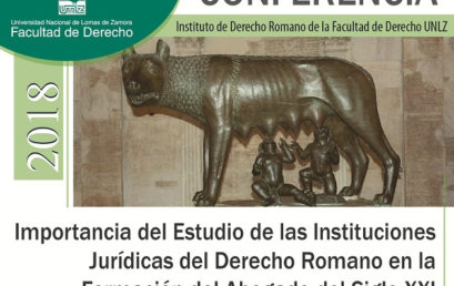 Importancia del Estudio de las Instituciones Jurídicas del Derecho Romano