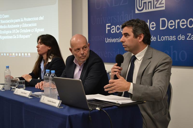 """Conferencia sobre el Fallo """"Asociación para Protección del Medio Ambiente y Educación Ecológica 18 de Octubre C/ Aguas Argentinas y otro S/ Amparo"""""""