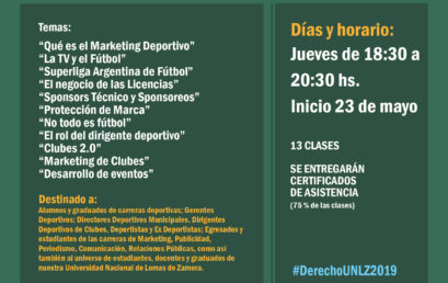 Curso de Marketing Deportivo