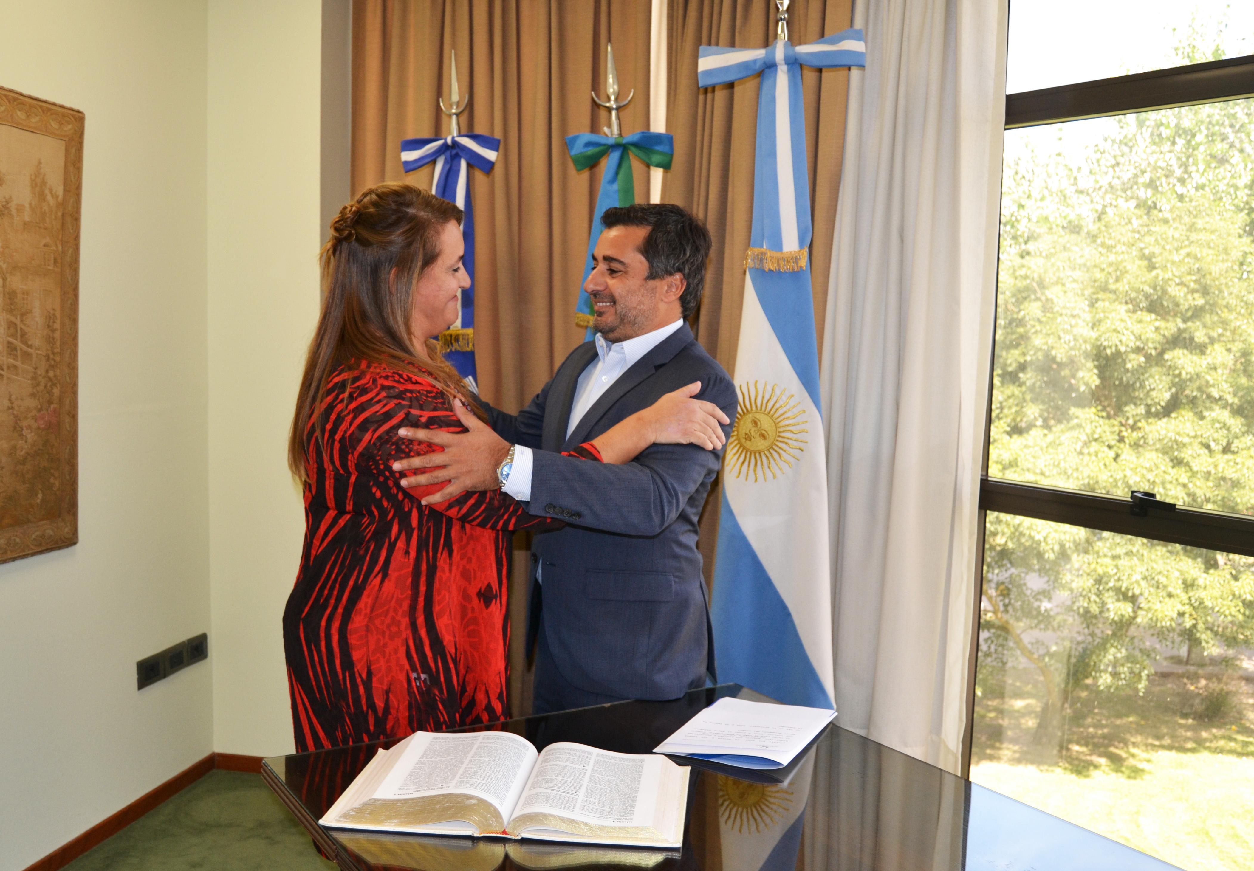 María Fernanda Vazquez asumió su segundo mandato