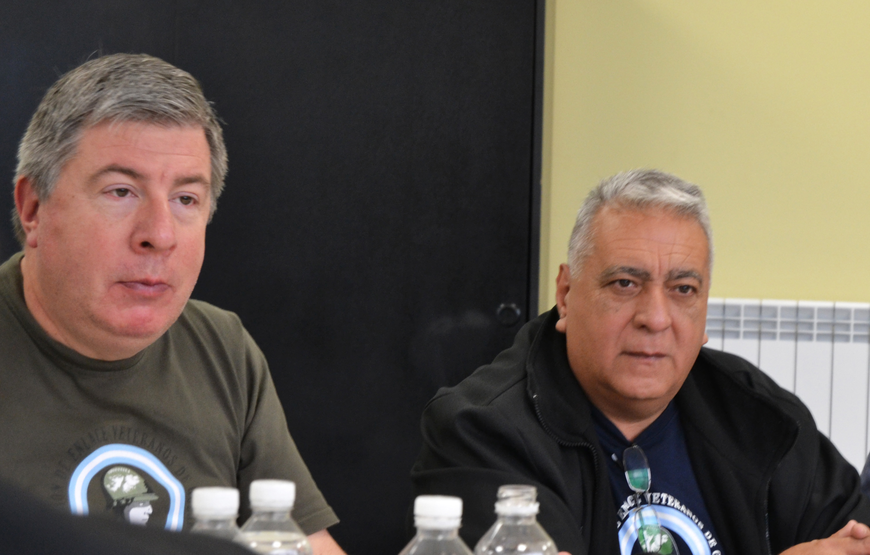 Entrevista a autoridades de la Comisión de Enlace de Veteranos de Guerra de Lomas de Zamora
