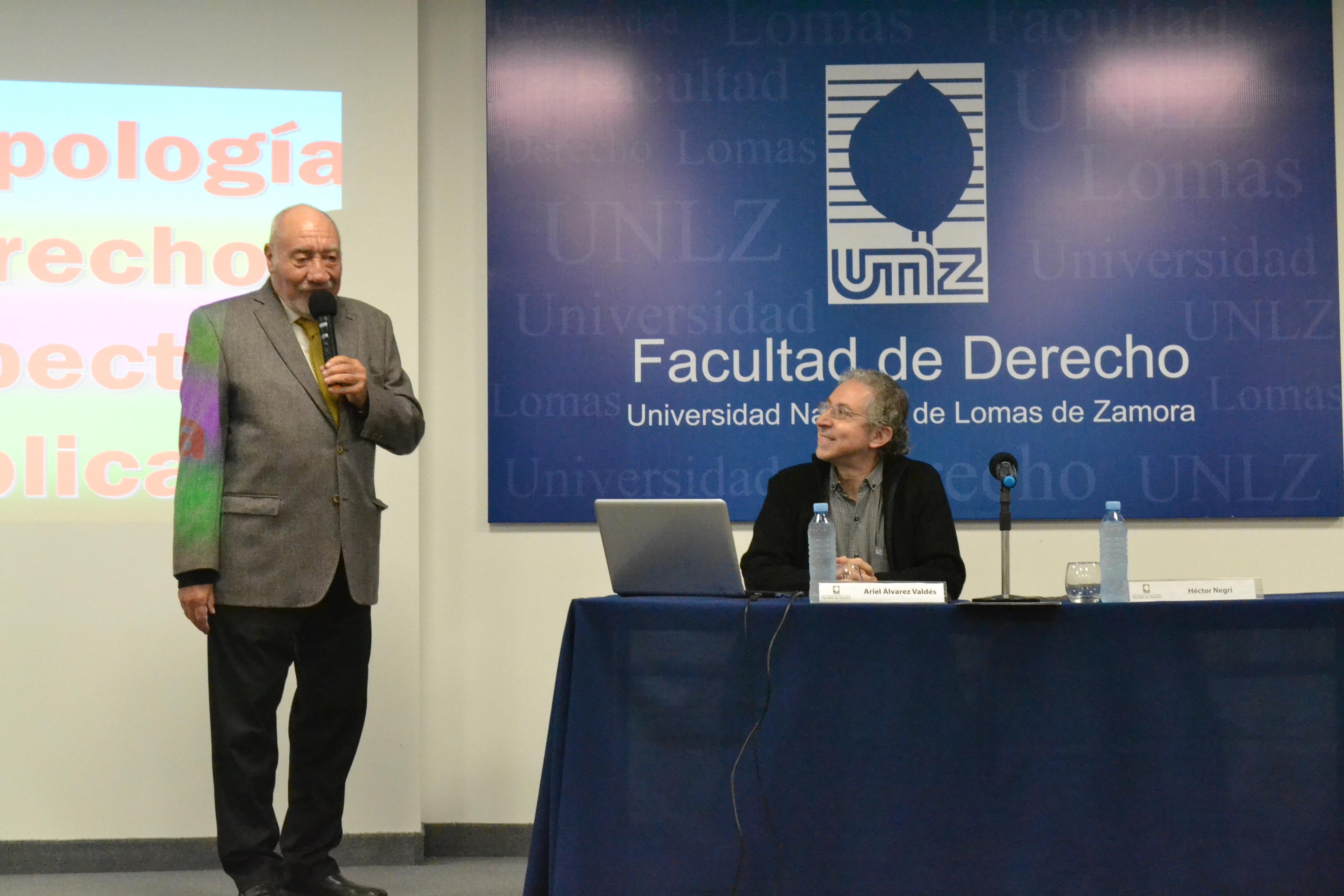 Conferencia Antropología y Derecho desde la Perspectiva Bíblica