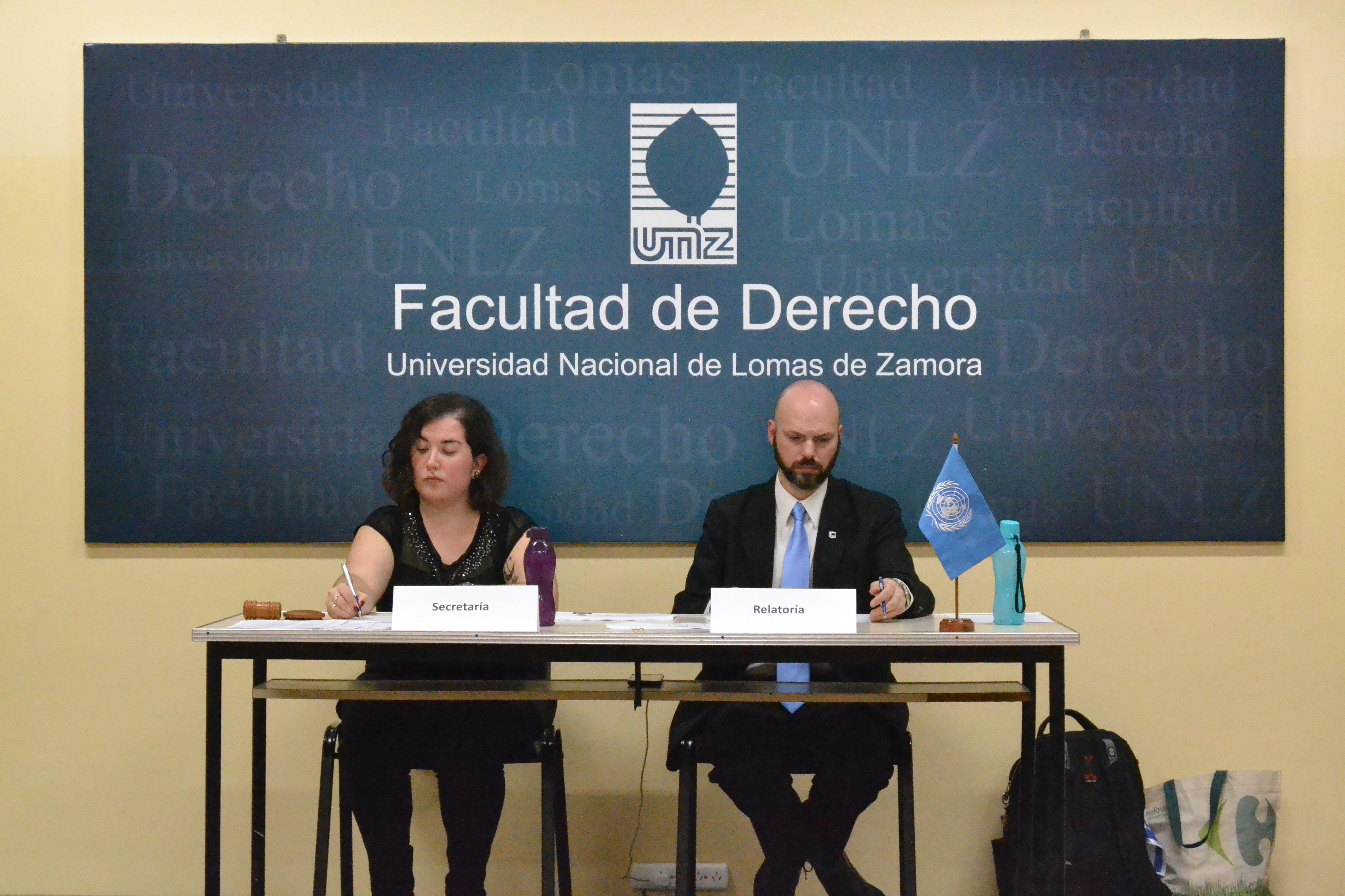 Simulacro de la Organización de las Naciones Unidas