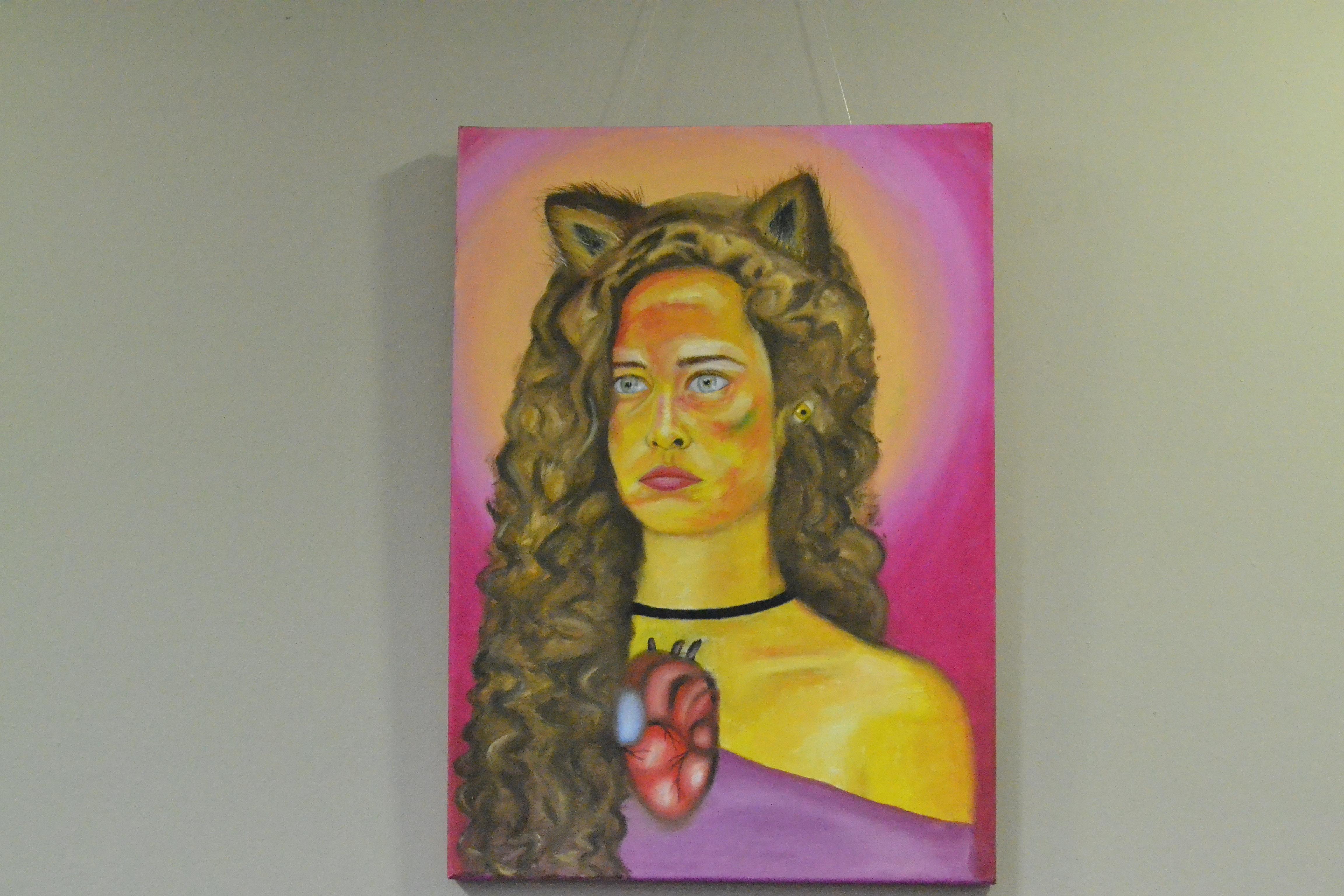 """Muestra de arte """"Mujeres Lobo"""""""