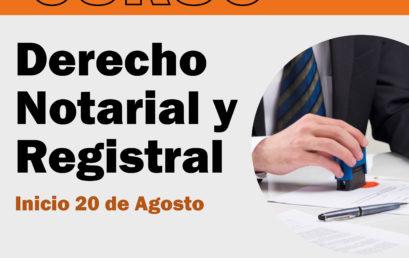Curso Derecho Notarial y Registral