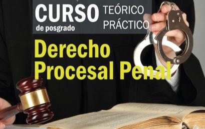 Curso Derecho Procesal Penal