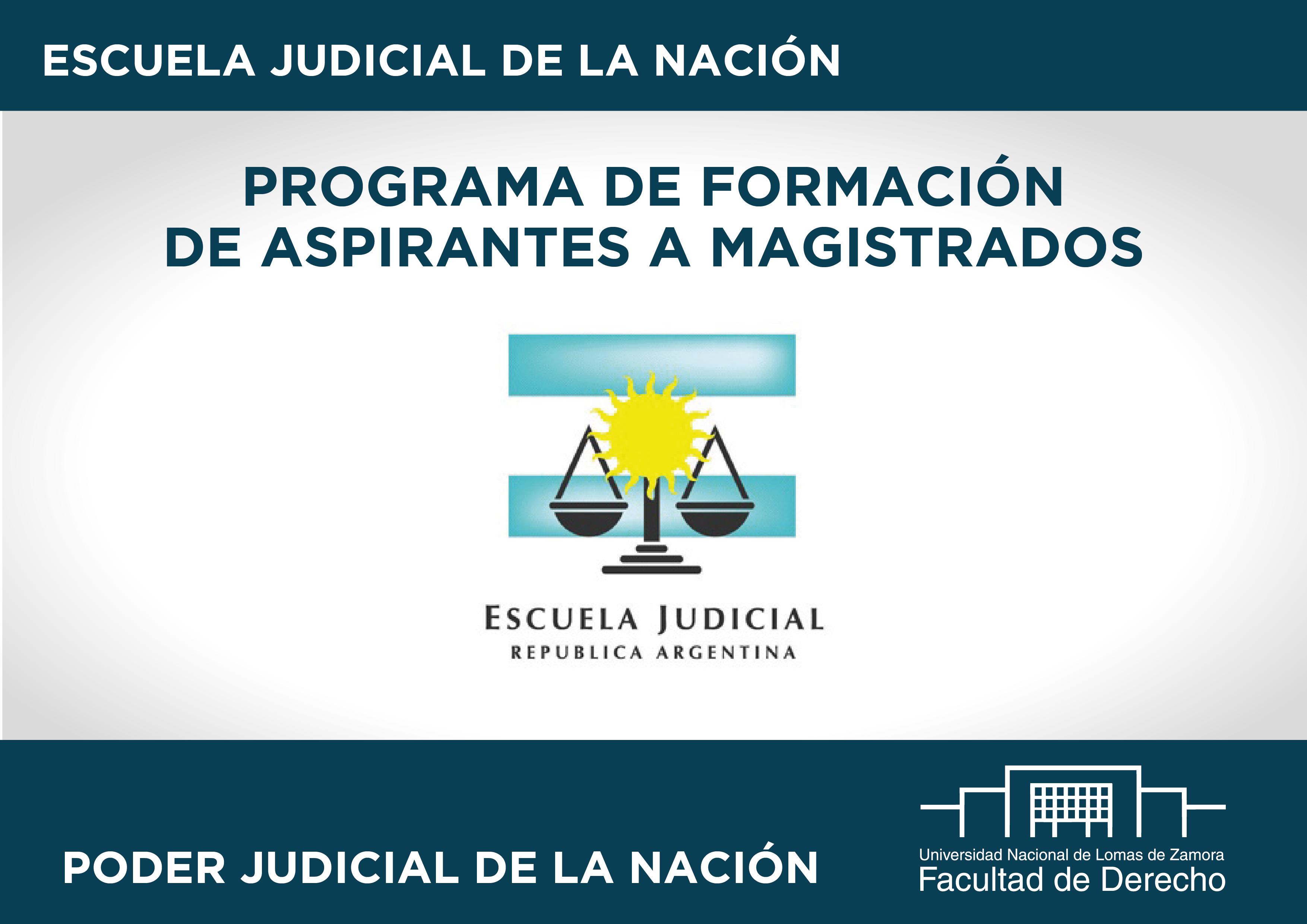 Programa de Formación de Aspirantes a Magistrados