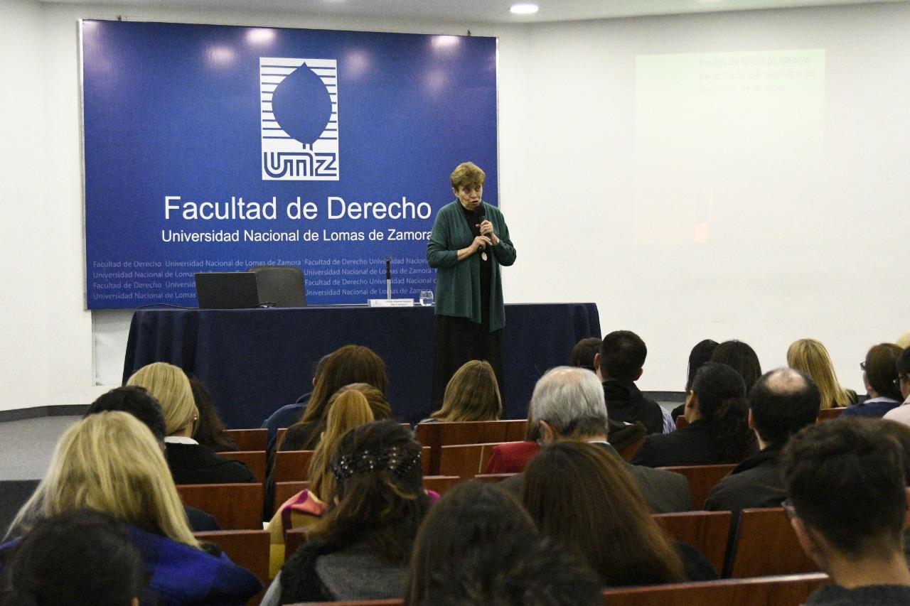 """Conferencia """"Cuestiones de Género en la Jurisprudencia de la Corte Interamericana de Derechos Humanos"""""""