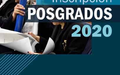 Carreras de Posgrado 2020